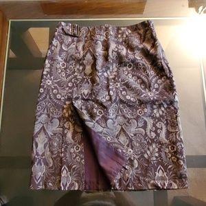Nine & Company Front Split Skirt-6